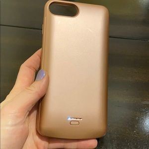 iPhone 8 + , 7 + , 6 +battery charging case